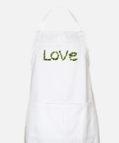 Love In Brussel Sprout Alphabet Apron