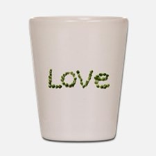 Love In Brussel Sprout Alphabet Shot Glass