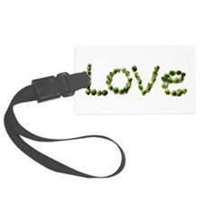 Love In Brussel Sprout Alphabet Luggage Tag