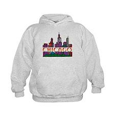 Chicago Skyline Hoodie