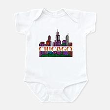 Chicago Skyline Infant Bodysuit