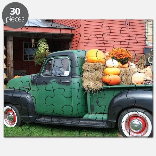 Antique Truck Puzzle