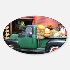 Antique Truck Sticker (Oval)