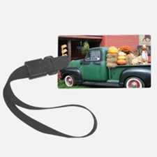 Antique Truck Luggage Tag