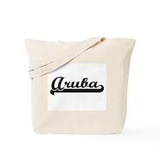 Aruba Classic Retro Design Tote Bag