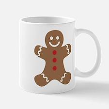Gingerbread Man Mugs