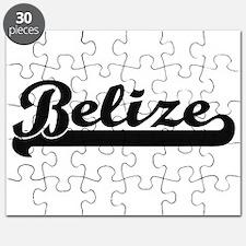Belize Classic Retro Design Puzzle