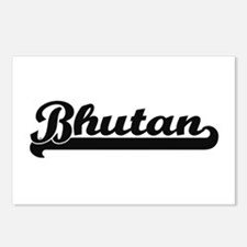 Bhutan Classic Retro Desi Postcards (Package of 8)