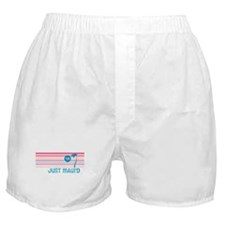 Stripe Just Maui'd '09 Boxer Shorts