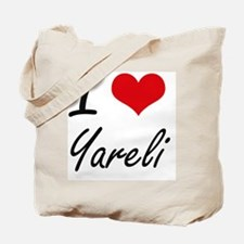 I Love Yareli artistic design Tote Bag