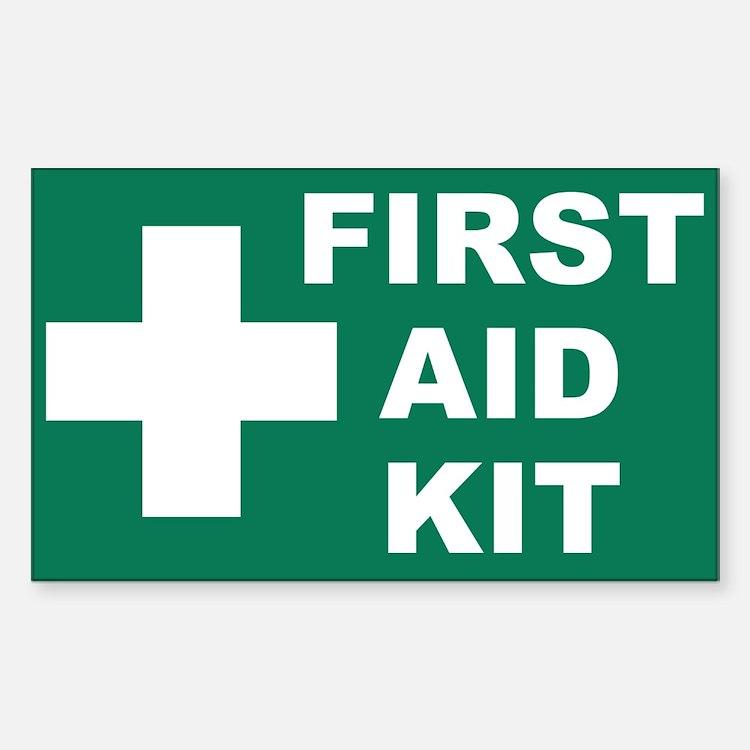 Cute First aid Decal