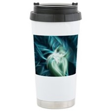Water In Motion Travel Coffee Mug