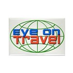 Eye On Travel Rectangle Magnet (10 pack)