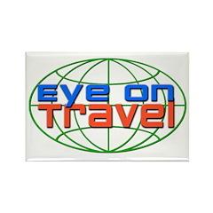 Eye On Travel Rectangle Magnet (100 pack)