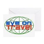 Eye On Travel Greeting Cards (Pk of 10)
