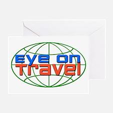 Eye On Travel Greeting Card