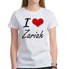 I Love Zariah artistic design T-Shirt