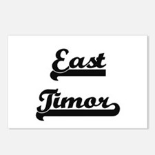 East Timor Classic Retro Postcards (Package of 8)