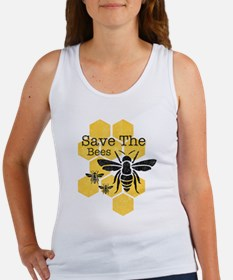 Honeycomb Save The Bees Women's Tank Top