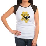 Bees Women's Cap Sleeve T-Shirt