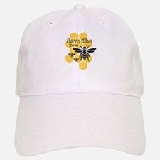 Honeycomb Save The Bees Baseball Baseball Cap