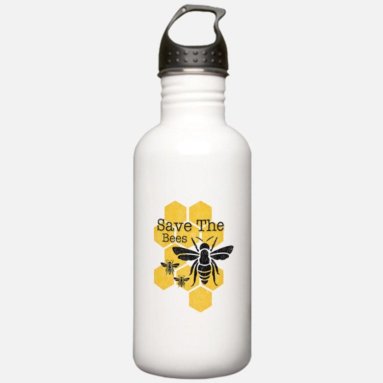 Honeycomb Save The Bee Water Bottle