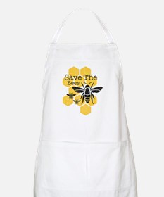 Honeycomb Save The Bees Apron