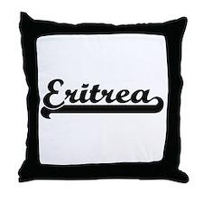 Eritrea Classic Retro Design Throw Pillow