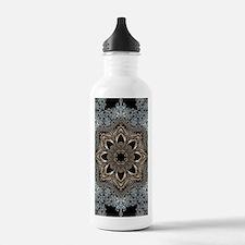 floral mandala hipster Water Bottle
