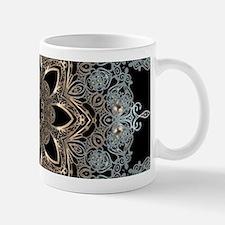 floral mandala hipster bohemian Mugs