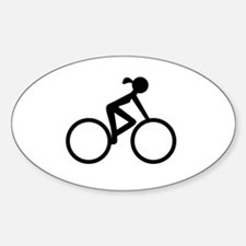 Cycle Chic Sticker (Oval)