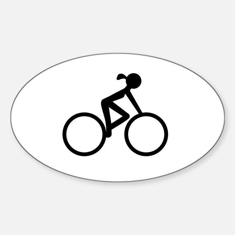 Cycling Bumper Stickers Car Stickers Decals  More - Cycling custom vinyl decals for car