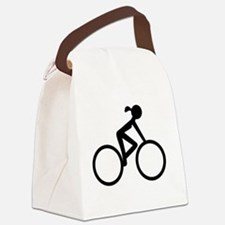 Cycle Chic Canvas Lunch Bag