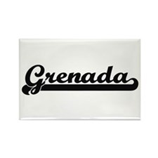 Grenada Classic Retro Design Magnets