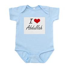 I Love Abdullah Body Suit