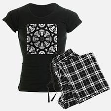 zen black white batik Pajamas