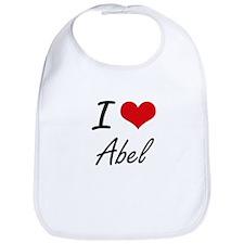I Love Abel Bib