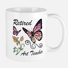 Retired Art Teacher Mugs