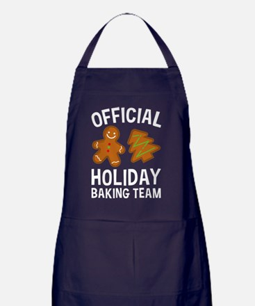 Official Holiday Baking Team Apron (dark)