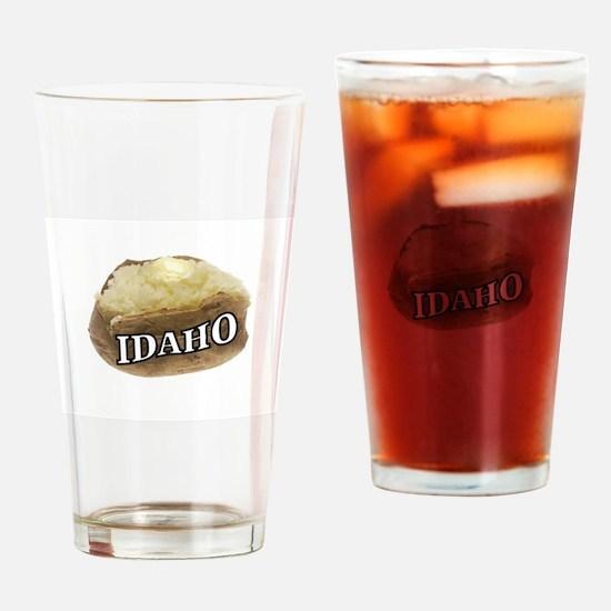 baked potato Idaho Drinking Glass