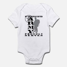 Granddaughter Proudly Serves 2 - ARMY Infant Bodys