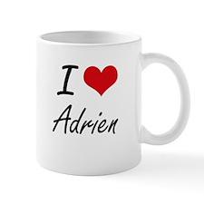 I Love Adrien Mugs