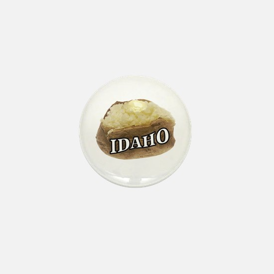 baked potato Idaho Mini Button (10 pack)
