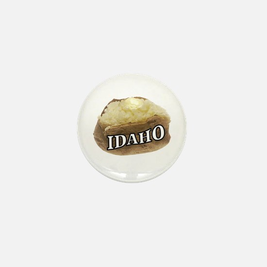 baked potato Idaho Mini Button