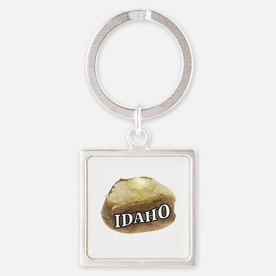 baked potato Idaho Keychains