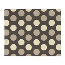 Dots Pattern Throw Blanket