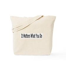It Matters/Role Model Tote Bag