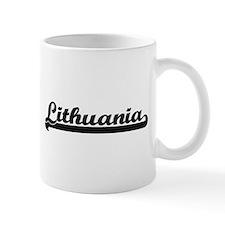 Lithuania Classic Retro Design Mugs