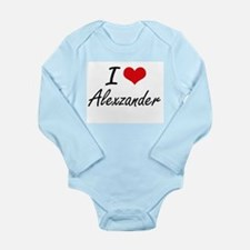 I Love Alexzander Body Suit