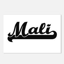 Mali Classic Retro Design Postcards (Package of 8)